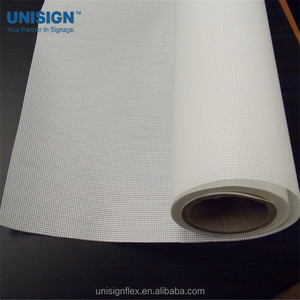 340gsm PVC Mesh Banner Fence Banner Perforated Wind Through Mesh Vinyl