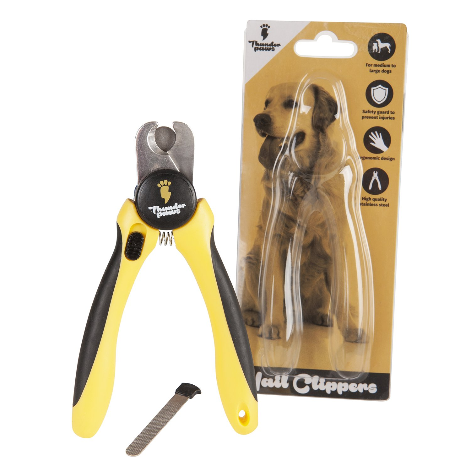 Get Quotations Thunderpaws Professional Grade Dog Nail Clippers And Trimmers By With Protective Guard Safety Lock