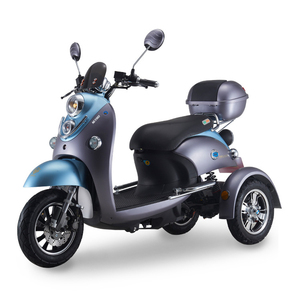 Industrial Three Wheel Low Price Adult Three-Wheeled Electric Scooter 500W With Pedals