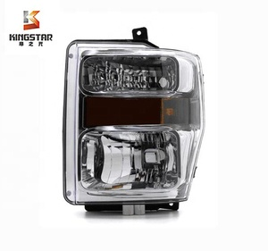 For 2008 2009 2010 Ford F250 OEM replacement chrome headlight head lamp