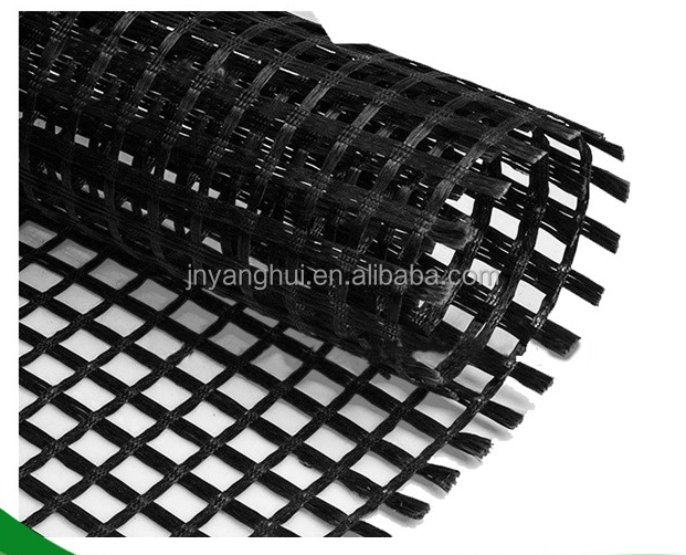 High Strength Biaxial Polyester Pet Geogrid for Asphalt Reinforcement and Coal Mining Safety