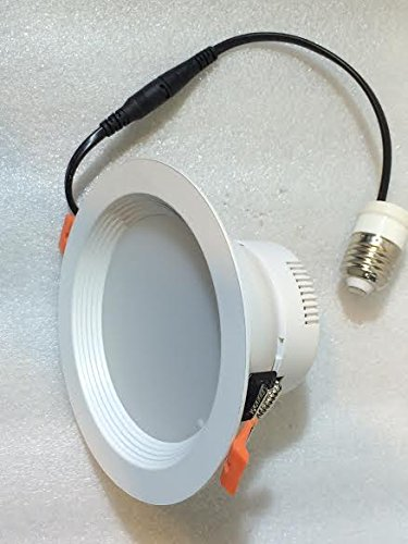 LED Downlight E26 Retrofit Fixture 8inch18 Watt=180Watt Hole Size 7inch/8 inch POT Light Halogen 1950 Lm,6000K,Non Dimmable Voltage- 85-265V,Pack of 20 Pieces= $400.00Cad 1 Piece=$20.00 Cad