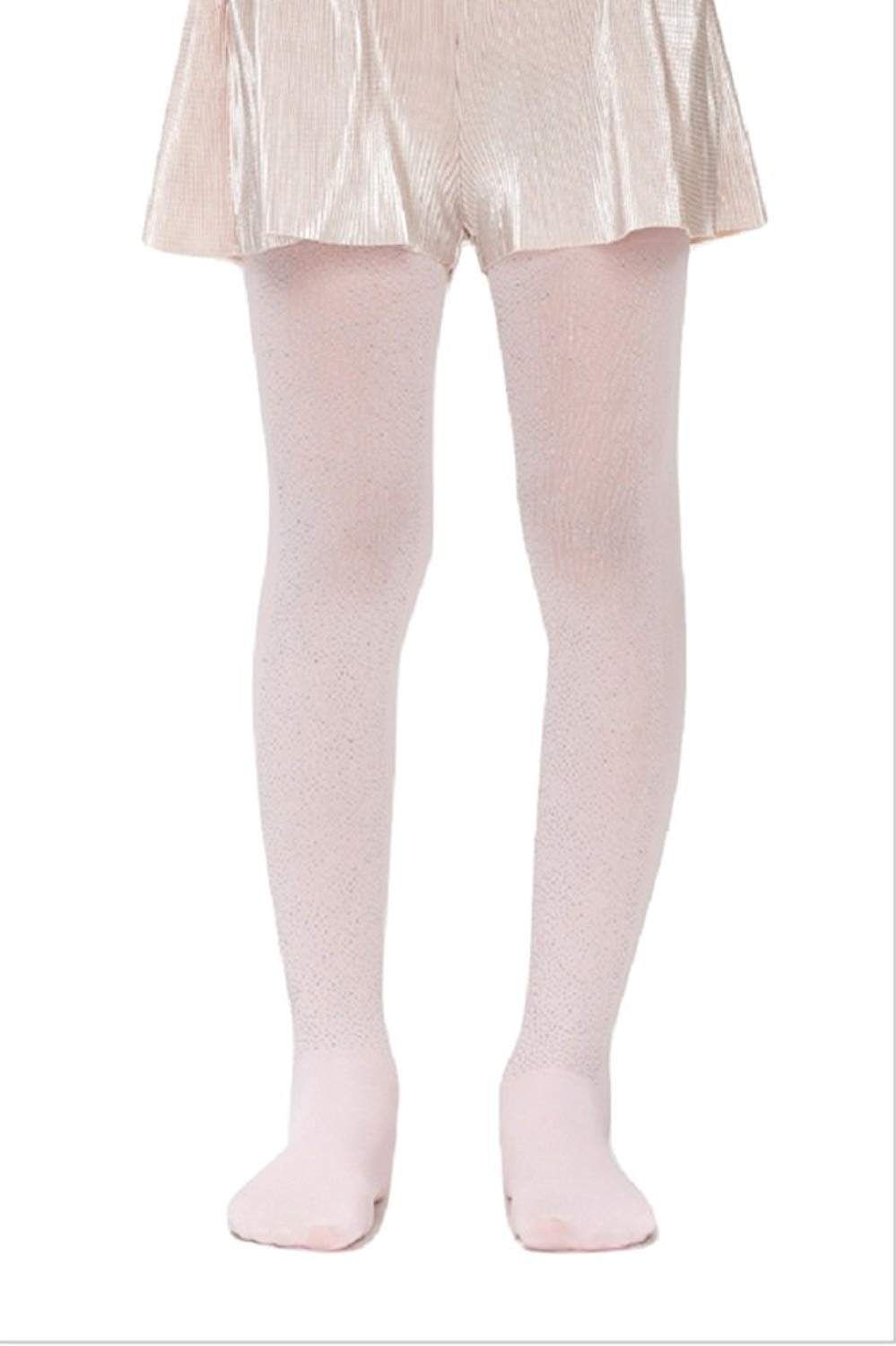 9baf79fe310 Get Quotations · Penti Pretty Shiny Girls Printed Kids Footed Tights 50 DEN  (White) (5 (