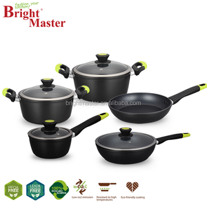 9PCS Full Induction Non-stick coating cookware set