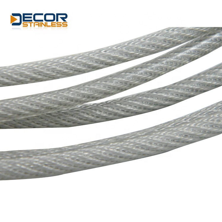 stainless steel railing wire rope system