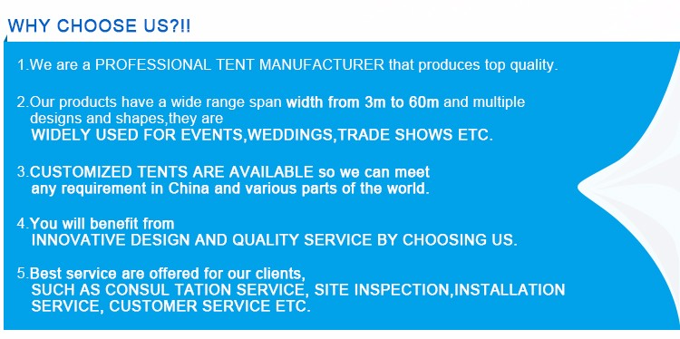 Guangzhou hot sale luxury 15m diameter pvc giant tents for sale