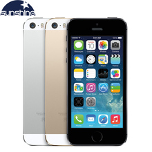 iPhone5s Original Unlocked Apple iPhone 5S Mobile Phone Dual Core 4″ IPS Used Phone 8MP 1080P GPS IOS Multi-Language Cell Phones