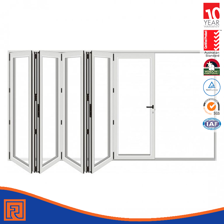 Aluminum Folding Glass Doors Exterior