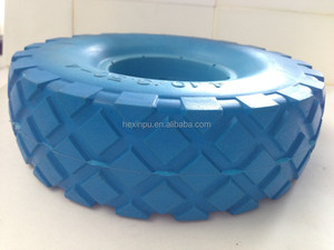 polyol isocyanate for solid tyre, shock absorption mat