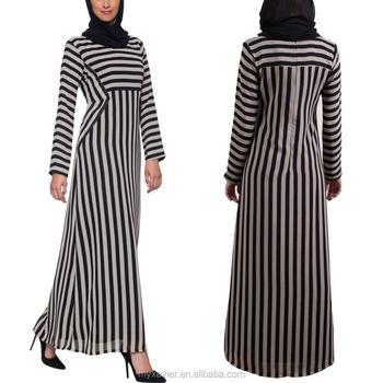Chiffon maxi dress abaya