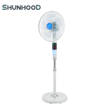 16 ''Plastic <span class=keywords><strong>Nationale</strong></span> Elektrische Voetstuk Fan LED Light Stand Fan