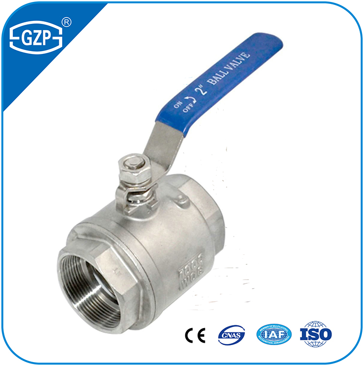 China Industral Gas Water Oil 1 2 3 Piece Butt Welding NPT NPSC NPTR NPSM NPSL RC BSP Female Thread Ball Valve with Lever Manual