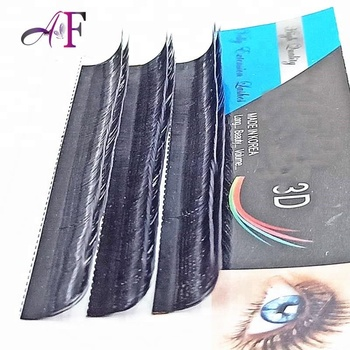 2 layers trips layers volume individual eyelash extension 0.07 8-15mm