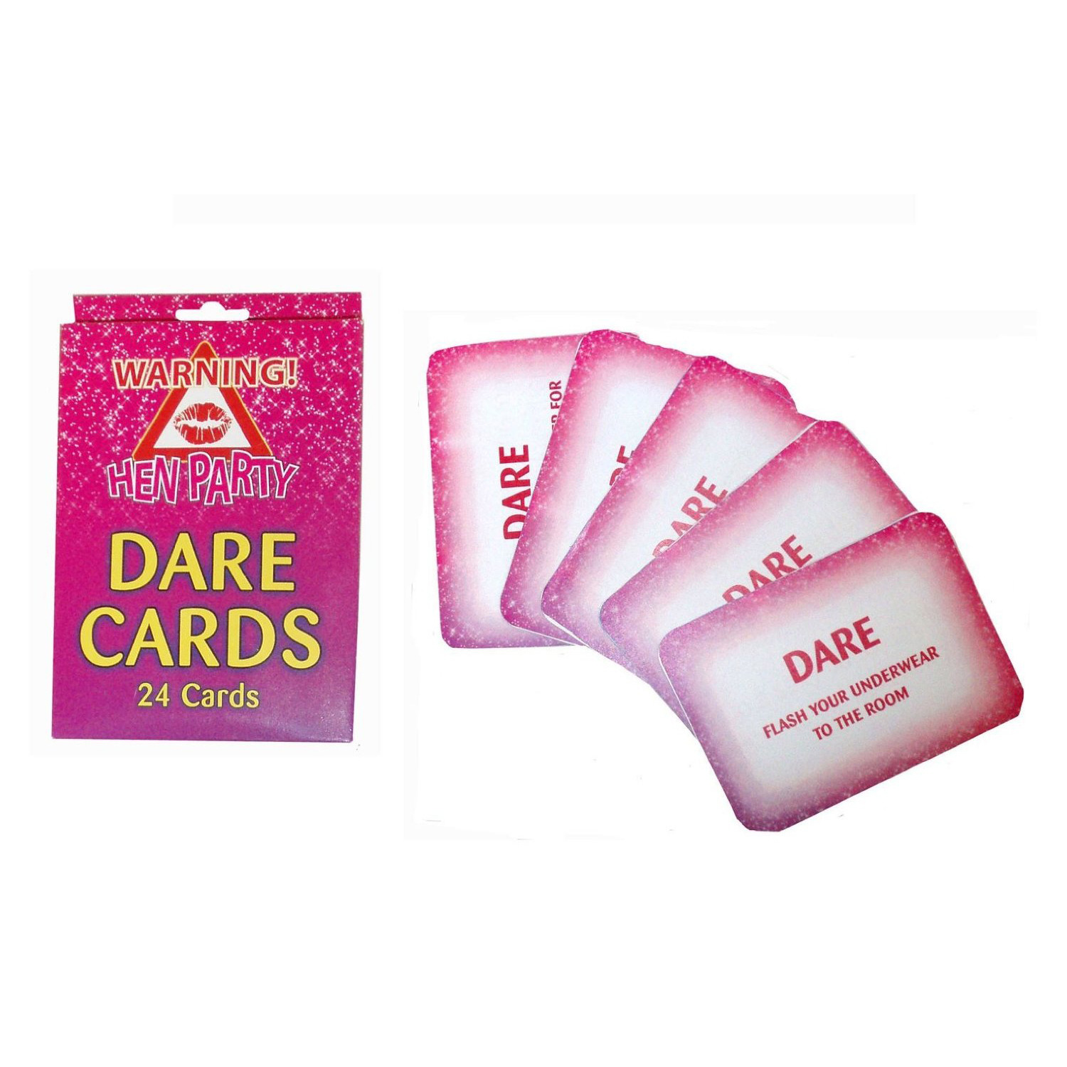 24 x Dare Cards in a box Hen Party Game