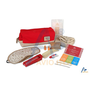 Customized comfort amenity kit for airline, hotel, travel