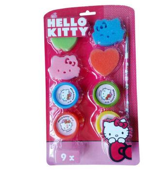 Hello Kitty Cute Sponge Toy Kids Stamp
