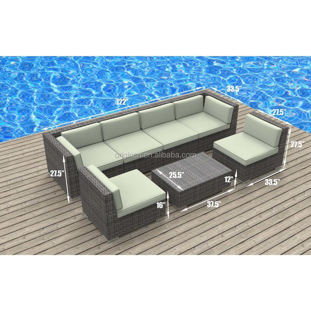 best seller diseo simple moderno rattan sofa de exterior conjunto barato muebles de terraza