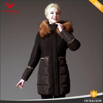 Женская куртка зимнее пальто Пекин женские длинные пальто  дизайн-производство Китай натуральным мехом пальто 53e76bc0956c3