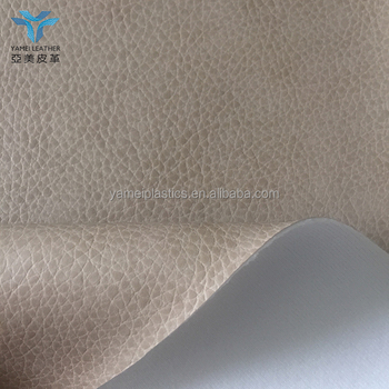Eco friendly water based pu leather for furniture application