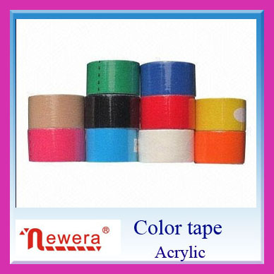 promotional stickers sealing packing self color adhesive tape