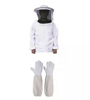 Suit Ventilate Bee Protect Cotton Clothingbeekeeper Protection Beekeeping Clothing Three Layer Full Ventilated Beekeeper Jacket
