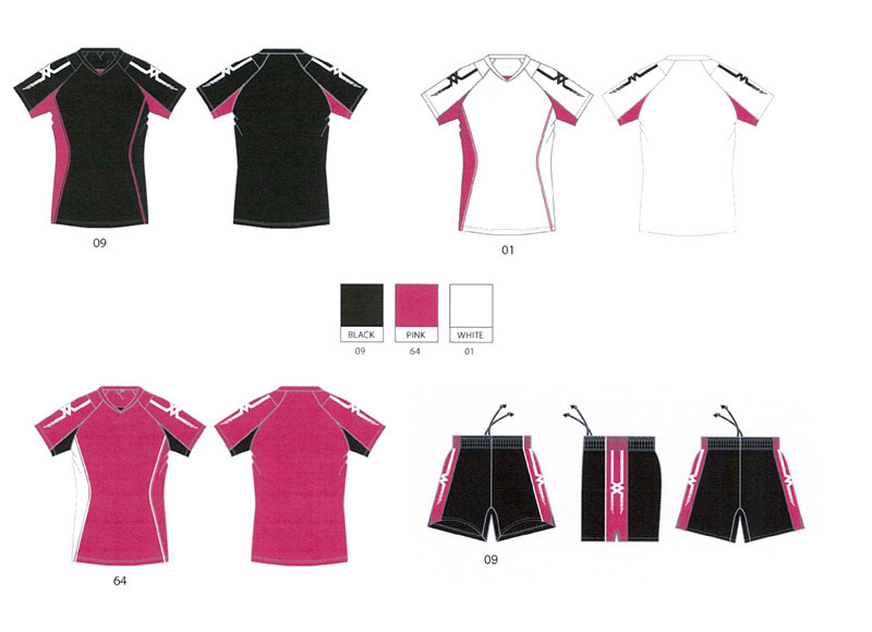 Hongen apparel hot stijl school volleybal uniform training ontwerp/volleybal uniform made in china
