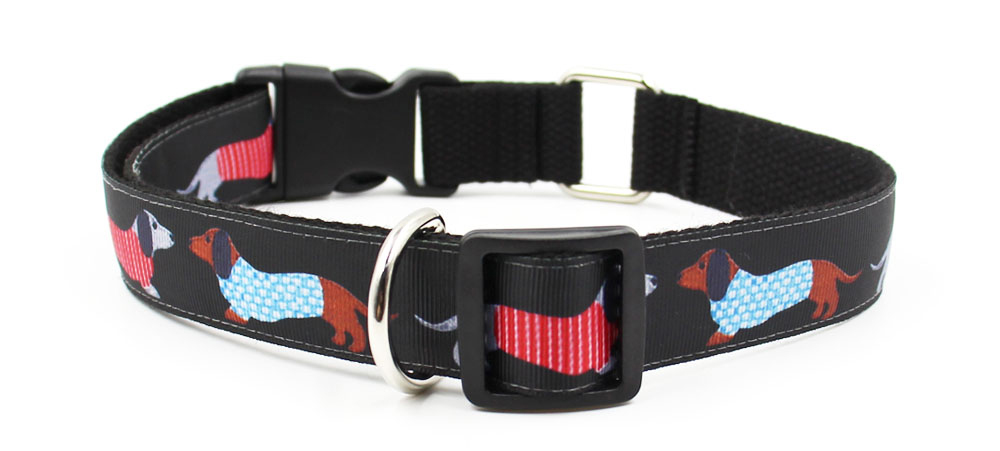 Wholesale personalized 2 inch diy name dog training collars waterproof