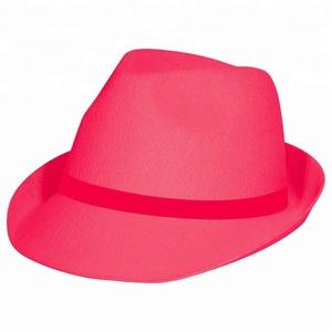 b127154f1e77c China Fedora Neon Hats
