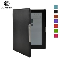 Smart Sleep Wake Function Protective Leather Stand Case Cover For Kobo Aura 6 6.8 H2O Touch 2 Glo HD Edition 2 eRreader