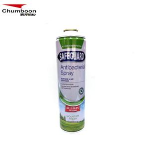 Antibacterial spray tin can