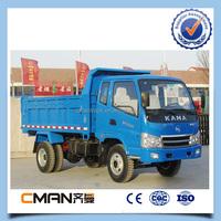 China Kama Brand 6 Wheel Light Duty Mini 8 Ton Dump Truck Off-road ...