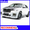 Pu body kit for bmw x6 E71 with Muffler Tip from Maiker body kit