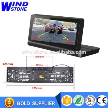 Android 1080P DVR 1GB RAM Truck Vehicle GPS Navigator Navitel with EURO Rear View Camera