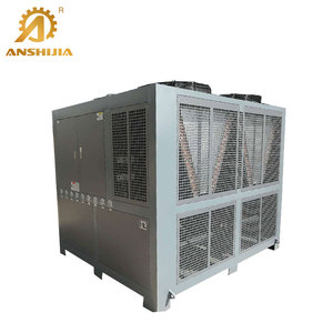 152KW R22 Refrigerant The Industrial Glycol Large Air-cooled Scroll Chiller