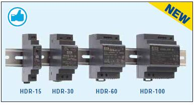 Meanwell Din Rail Series HDR-30-48 48V Switching Power Supply