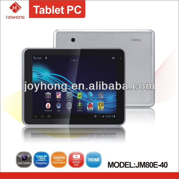 Quad core 8 inch tablet pc with WCDMA and GPS function