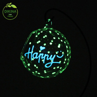 wedding & home & garden tree bulk wholesale shatterproof giant big 100 wholesale clear glass christmas ball ornaments with led