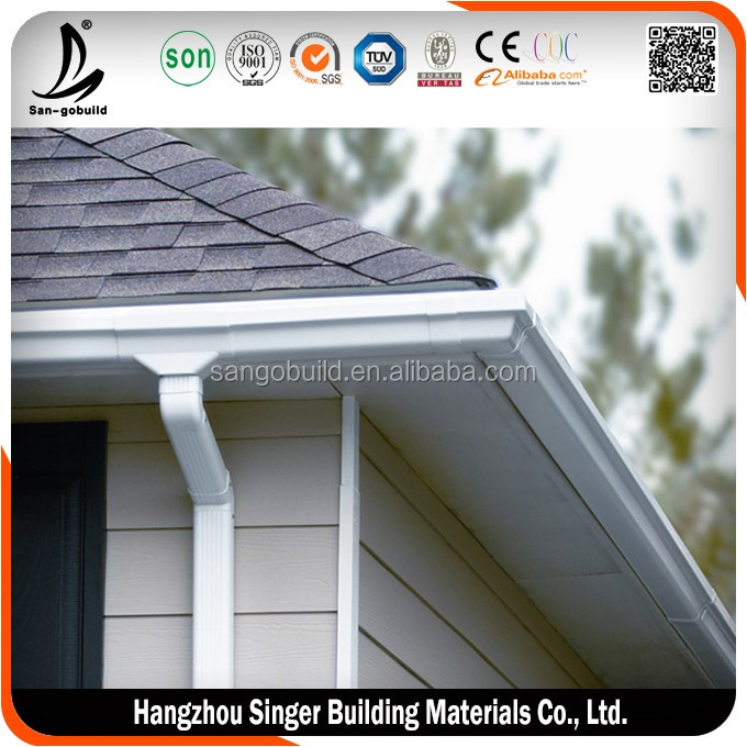 Soncap Nigeria 5 2 Inch Roof Pvc Rainwater Gutter And