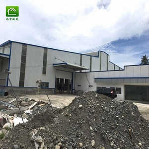 Pre-engineered China custom design prefabricated light steel structure building workshop