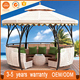 Luxury Cumstomized European Style Dome Waterproof Round Gazebo For Patio Garden