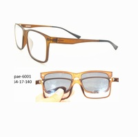 STOCK TR90 thin china wholesale optical frame low price eyeglasses frame with sunglasses clip on