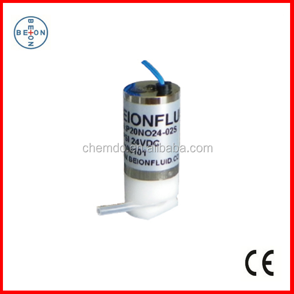 BEION FLUID Normally Closed Solenoid Operated Pinch Valve