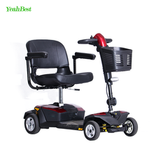Best Style 4 Wheel Golf Mobility Scooter Battery Powered 24V Folding Cheap Electric Scooter for Adults