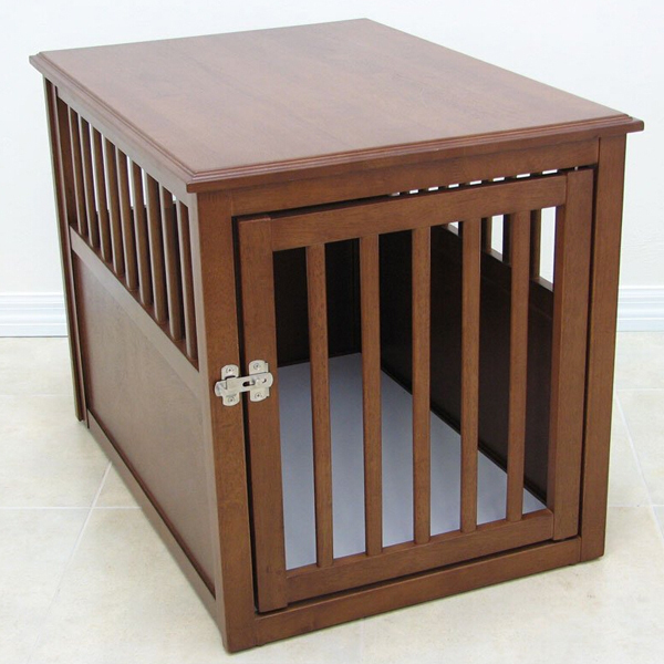 Large indoor dog kennelwooden dog house with stairs buy for Wooden dog pens for inside