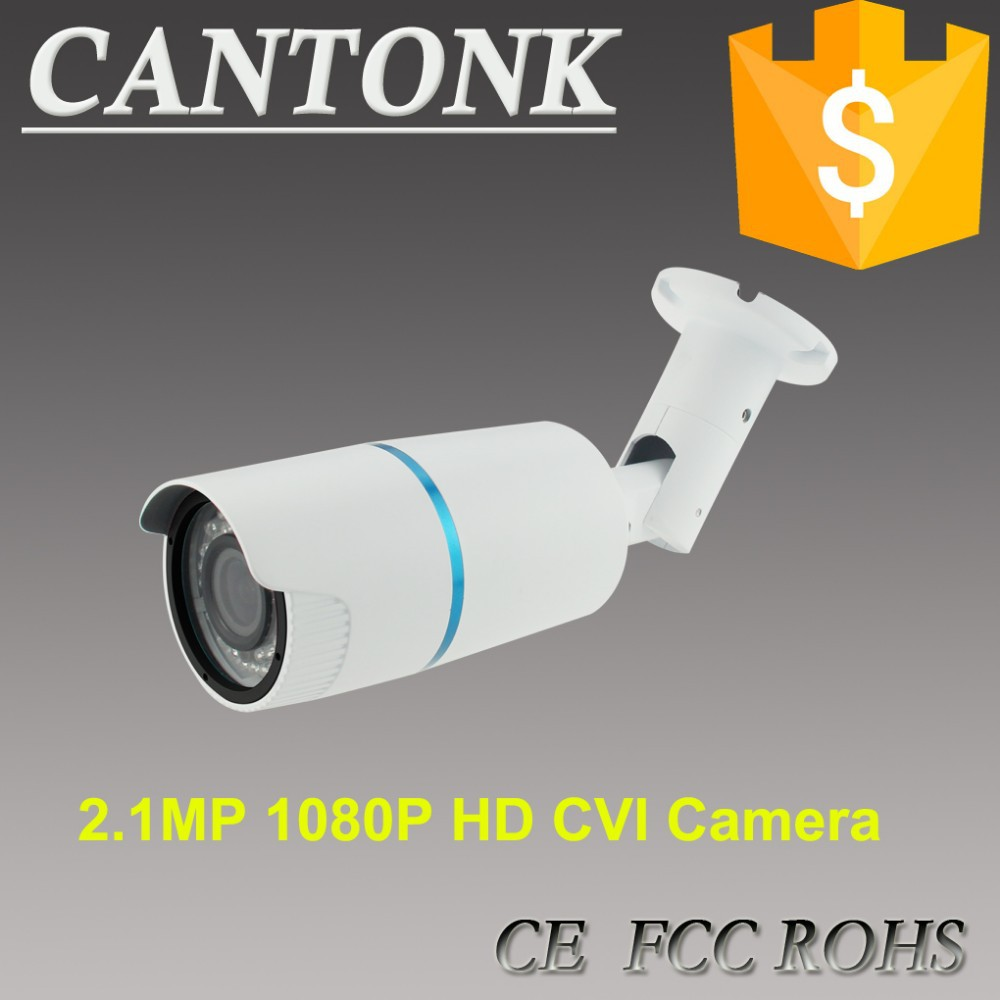 China CCTV Factory IR Night Vision Zoom 1080P HD IP Starlight Video outdoor bullet Camera Cantonk
