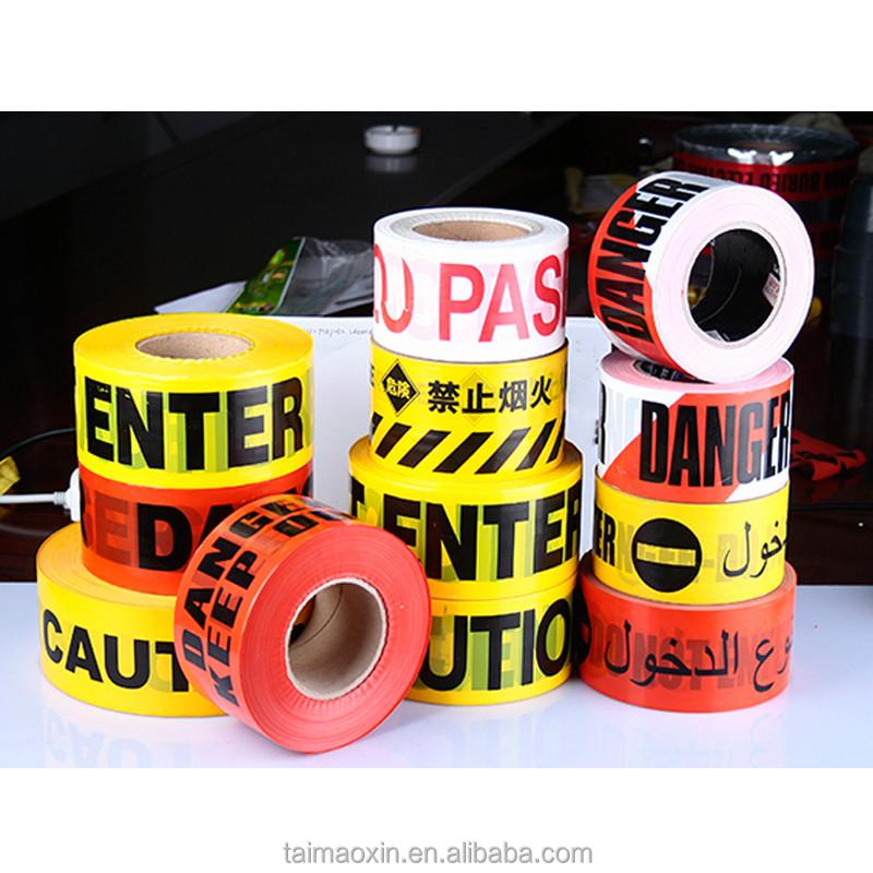 Caution Tape Crime Scene Do not Enter Warning Barricade Tape