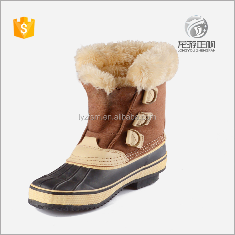 Popular fashion snow boots for women
