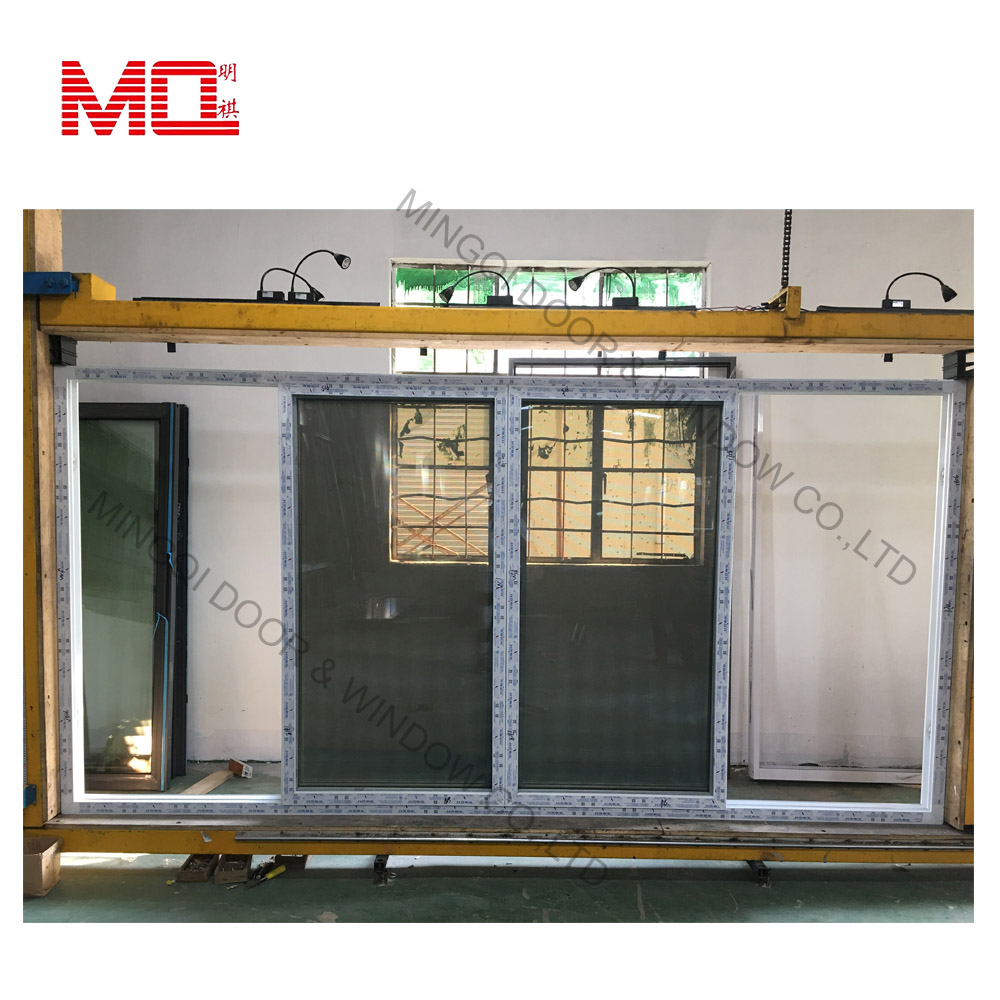 PVC double glass windows price sliding window for sale