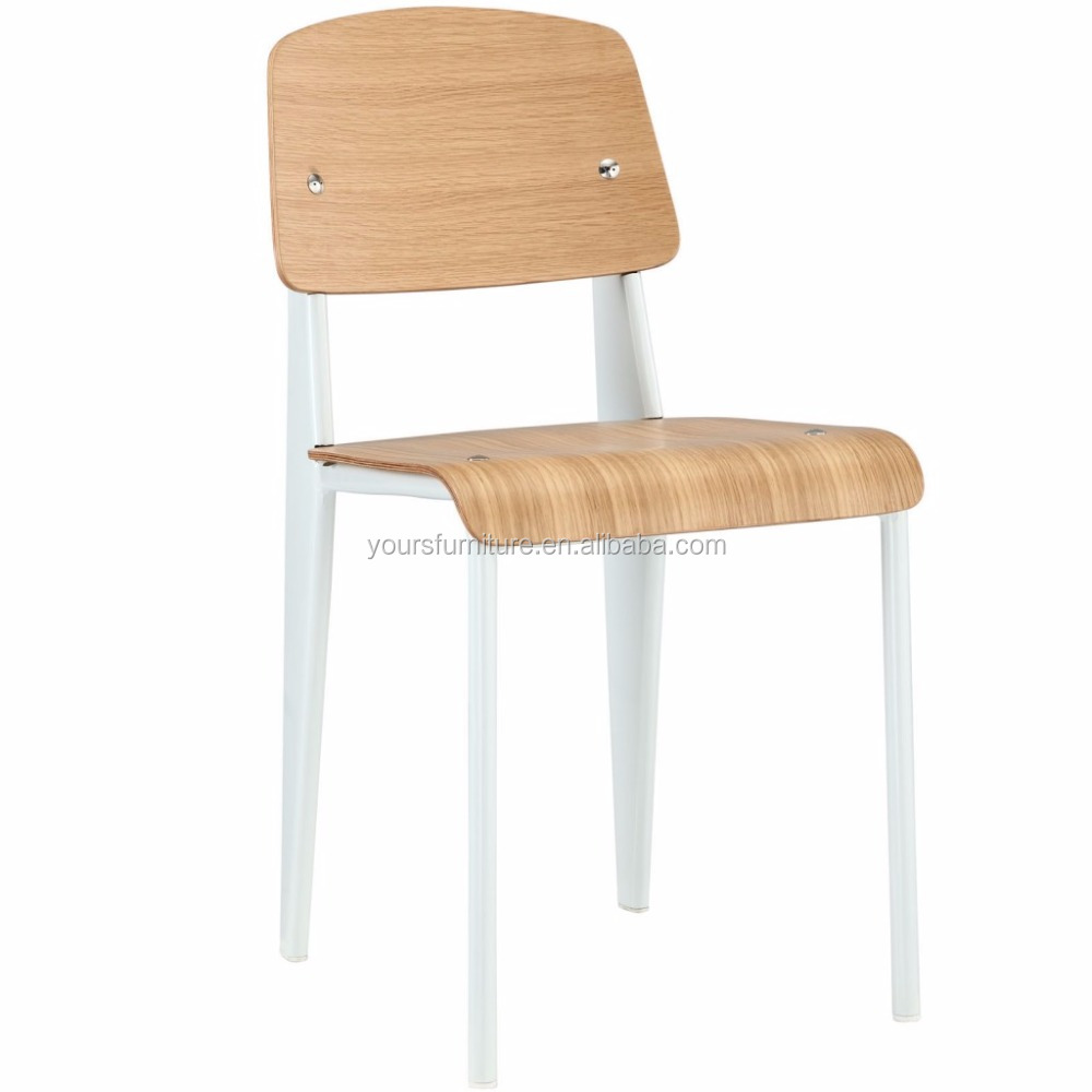 replica prouve plywood white standard chair for dining room