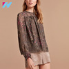 Chiffon Casual Clothing Summer Comfortable Long Sleeves Blouse Patterns